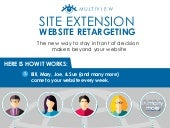 Site Extension Website Retargeting