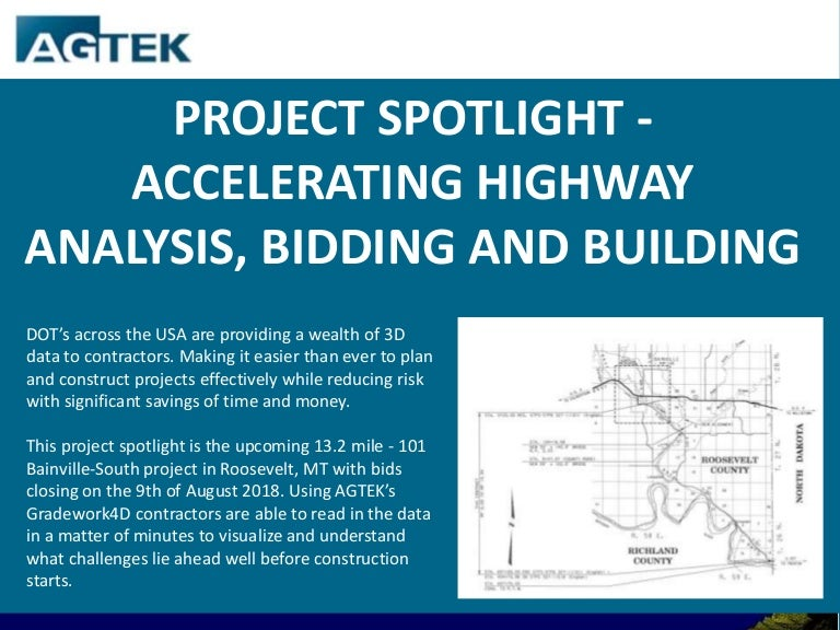 Project spotlight - Accelerating highway analysis bidding and building