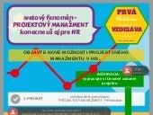 1. časť: Infographic - Projektovy manazment pre HR profesionalov - Uvodne zadanie projektu