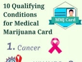 10 Qualifying Conditions for Medical Marijuana Card