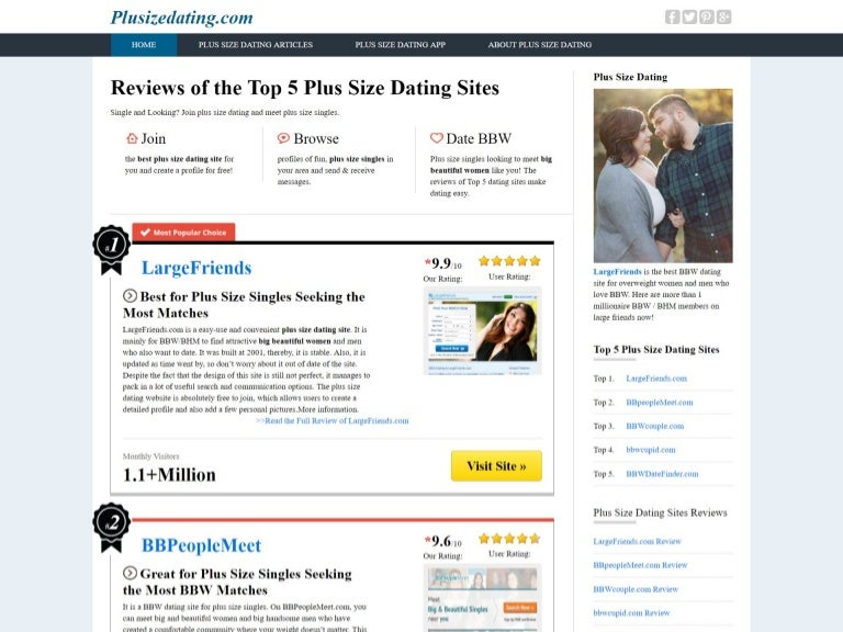 Top 5 Plus Size Dating Sites For Plus Size Singles-1756