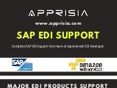 SAP EDI Production | Support and Service by Apprisia