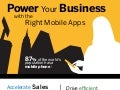 Power Your Business with the Right Mobile Apps - Infographic