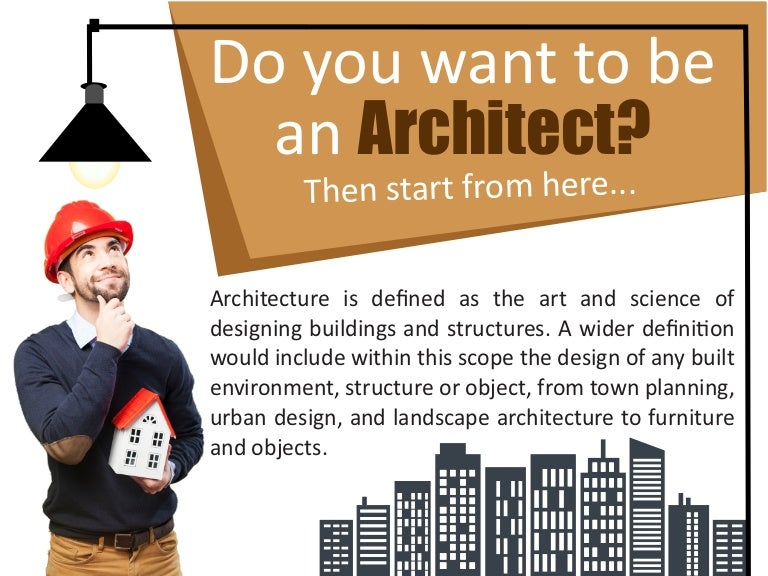 what does it take to be an architect