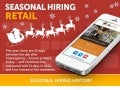 Seasonal Hiring Retail Infographic