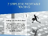 7 STEPS FOR PROFITABLE TRADING [INFOGRAPHIC]