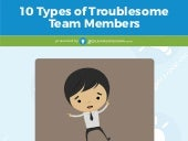 10 Types of Troublesome Team Members