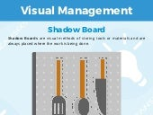 Visual Management: Shadow Board, Kanban