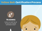 Yellow Belt Certification Process