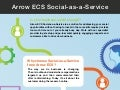 Arrow ECS Social-as-a-Service
