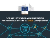 Infographic . Science, Research and Innovation Performance of the EU 2018 Strengthening the foundations for Europe's future  (SRIP) Report