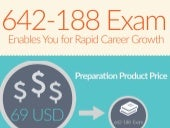 Study with 642-188 exam practice test - free trial [Infographic]