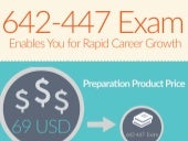 Study with 642-447 exam practice test - free trial [Infographic]