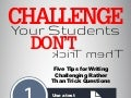 Challenge Your Students, Don't Trick Them