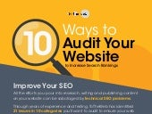 Ten Ways to Audit Your Website to Increase Search Rankings