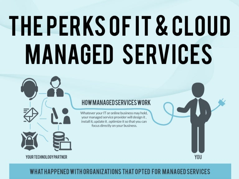 The Perks Of IT And Cloud Managed Services Infographics