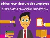 The Stress of Hiring Your First On-site Employee