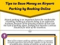 Tips to Save Money on Airport Parking by Booking Online