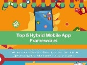 Top 5 Hybrid Mobile App Frameworks by Techtic Solutions