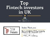 Top Fintech investors in UK