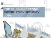 Top 10 Highest Paid Information Security Jobs