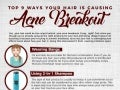 Top 9 Ways Your Hair Is Causing Acne Breakout