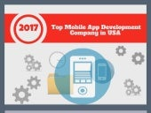 Top Mobile App Development Company In USA !