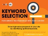 Keyword Selection for Earning High Rankings with your Content