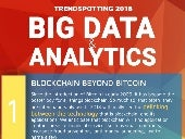 Big Data and Analytics Trends 2018