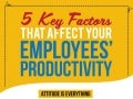 5 Key Factors That Affect Your Employees' Productivity