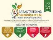 WABA Folder de ação da SMAM - Semana Mundial de Aleitamento Materno  2018 em inglês