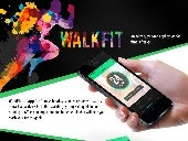 One of AppInventiv's Health & Fitness projects - WALKFIT