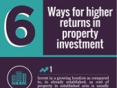 Ways for higher returns in property investment