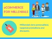 What is eCommerce for Millennials? (infographic)
