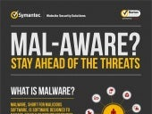 What is Malware? - Infographic By Symantec