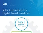 Why Cisco-for-Automation