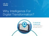 Why Cisco- for-Intelligence