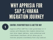 Why Apprisia for SAP S/4HANA Migration Journey