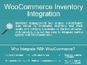 WooCommerce Inventory Integration