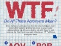 WTF Do All These Acronyms Mean? [INFOGRAPHIC]