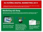 Xu hướng digital marketing trends trong năm 2014 - infographic