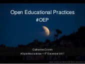 Open educational practices #OEP