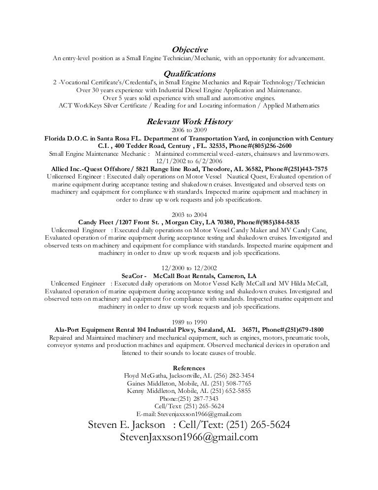 jackson resume - Waitress Resume Objective Examples