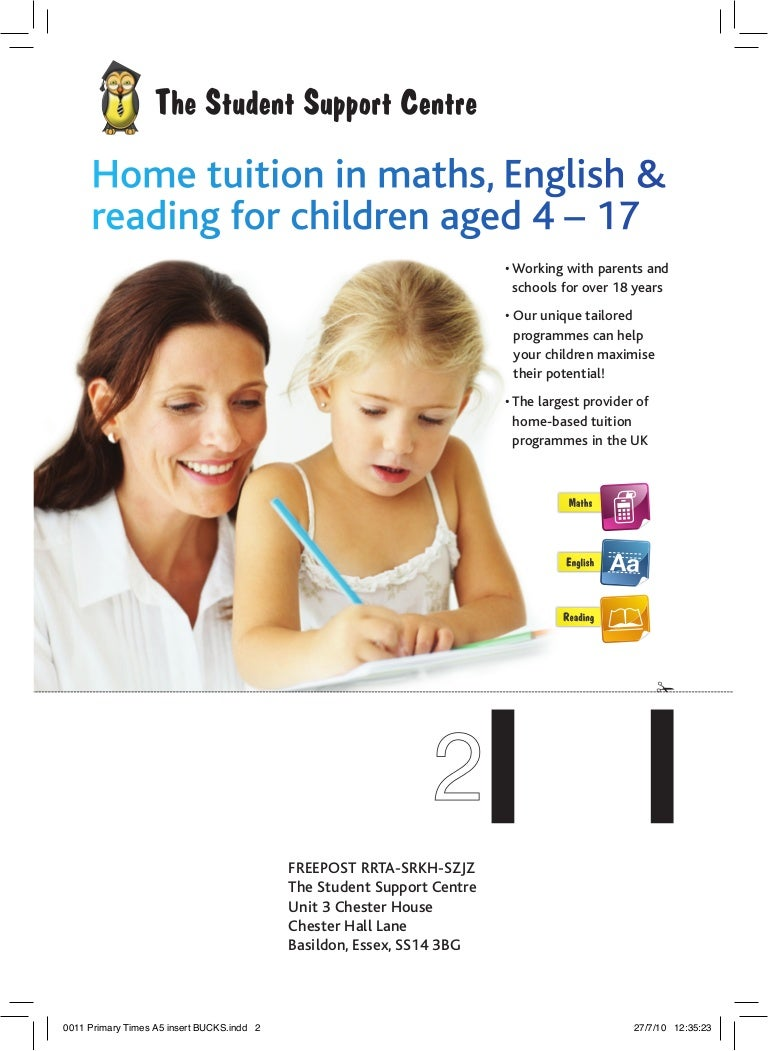 Student Support Centre - Home Tuition