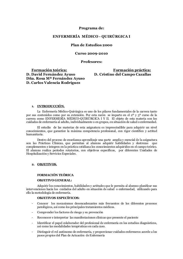 Famoso Ejemplos De Reanudar Enfermera Médica Quirúrgica Cresta ...