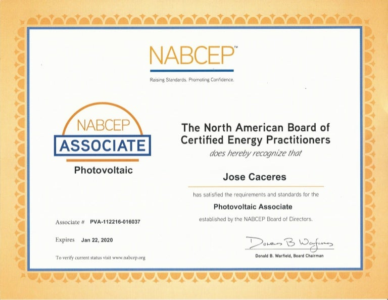 nabcep certification