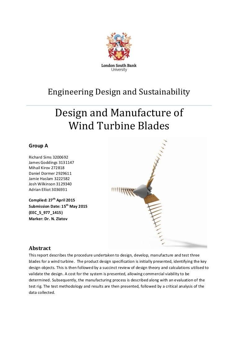 Wind Turbine Report Final Power Diagrams