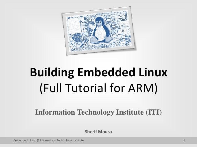 Embedded linux tutorial embeddedcraft.