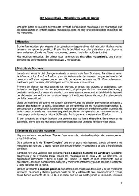 007 a neurología miopatías y miastenia gravis, epilepsia