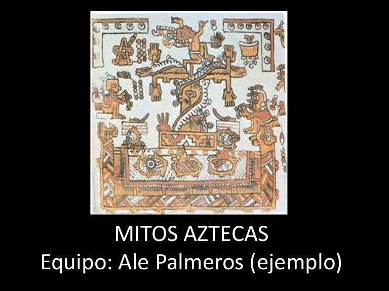 Mitología azteca (+ bonus)
